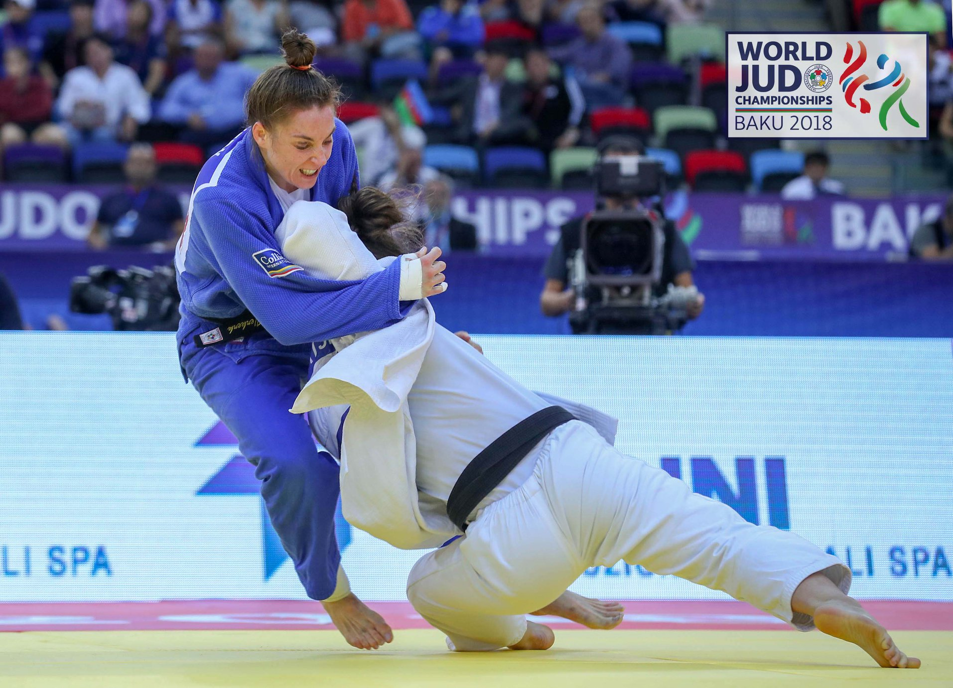 Daniela Krukower World Judo Champion