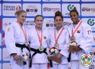Maryna Cherniak (UKR), Irina Dolgova (RUS), Sümeyye Akkus (TUR), Taciana Cesar (GBS) - Grand Prix Samsun (2014, TUR) - © IJF Media Team, International Judo Federation