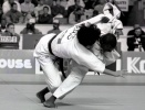 Oon Yeoh (MAS), Franck Sousatte (GAB) - World Championships Hamilton (1993, CAN) - © David Finch, Judophotos.com