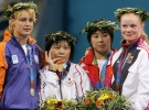 Masae Ueno (JPN), Edith Bosch (NED), Dongya Qin (CHN), Annett Boehm (GER) - Olympic Games Athens (2004, GRE) - © Reuters