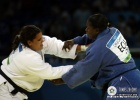 Nihel Cheikh Rouhou (TUN), Carmen Chala (ECU) - Olympic Games Beijing (2008, CHN) - © IJF Media Team, International Judo Federation
