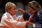 Morgane Ribout (FRA), Telma Monteiro (POR) - World Championships Rotterdam (2009, NED) - © IJF Media Team, International Judo Federation
