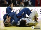 Vlora Bedeti (SLO), Edwige Gwend (ITA) - World Championships Juniors Paris (2009, FRA) - © IJF Media Team, International Judo Federation