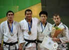 Quedjau Nhabali (UKR), Archil Shinjikashvili (GEO), Grigori Minaskin (EST), Daiki Nishiyama (JPN) - World Championships Juniors Paris (2009, FRA) - © IJF Media Team, International Judo Federation