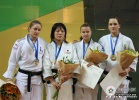 Haruka Tachimoto (JPN), Lucie Perrot (FRA), Daria Davydova (RUS), Abigel Joo (HUN) - World Championships Juniors Paris (2009, FRA) - © IJF Media Team, International Judo Federation