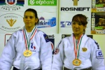 Julia Rosso (FRA), Anna Dmitrieva (RUS) - Cadet World Championships Budapest (2009, HUN) - © JudoInside.com, judo news, results and photos