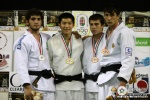 Jae-Hyung Lee (KOR), Henrique Silva (BRA), Batuhan Efemgil (TUR), Ali Erdogan (TUR) - Cadet World Championships Budapest (2009, HUN) - © IJF Media Team, International Judo Federation