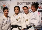 Haruka Tachimoto (JPN), Erica Barbieri (ITA), Linda Bolder (NED), Marie Pasquet (FRA) - Grand Prix Rotterdam (2010, NED) - © IJF Media Team, International Judo Federation