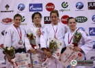 Haruka Tachimoto (JPN), Rasa Sraka (SLO), Iljana Marzok (GER), Houda Miled (TUN) - Grand Prix Tunis (2010, TUN) - © IJF Media Team, International Judo Federation