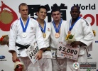 Takamasa Anai (JPN), Henk Grol (NED), Oreydis Despaigne (CUB), Thierry Fabre (FRA) - World Championships Tokyo (2010, JPN) - © IJF Media Team, International Judo Federation
