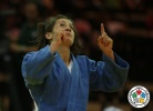 Majlinda Kelmendi (KOS),  HONOUR (IJF) - Grand Prix Abu Dhabi (2011, UAE) - © IJF Media Team, International Judo Federation