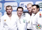 Tiago Camilo (BRA), Kirill Voprosov (RUS), David Alarza (ESP), Marcus Nyman (SWE) - Grand Prix Amsterdam (2011, NED) - © IJF Media Team, International Judo Federation