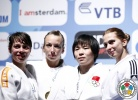 Charline Van Snick (BEL), Birgit Ente (NED), Alina Dumitru (ROU), Shugen Wu (CHN) - Grand Prix Amsterdam (2011, NED) - © IJF Media Team, International Judo Federation