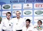 Henk Grol (NED), Maxim Rakov (KAZ), Ramadan Darwish (EGY), Or Sasson (ISR) - Grand Prix Amsterdam (2011, NED) - © IJF Media Team, International Judo Federation