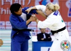 Kayla Harrison (USA), Xiuli Yang (CHN) - Grand Prix Qingdao (2011, CHN) - © IJF Media Team, International Judo Federation