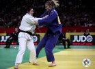 Automne Pavia (FRA), Corina Stefan (ROU) - Grand Slam Paris (2011, FRA) - © IJF Media Team, International Judo Federation