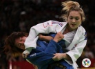 Automne Pavia (FRA), Aiko Sato (JPN) - Grand Slam Paris (2011, FRA) - © IJF Media Team, International Judo Federation