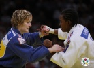 Lucie Louette (FRA), Audrey Tcheumeo (FRA) - Grand Slam Paris (2011, FRA) - © IJF Media Team, International Judo Federation