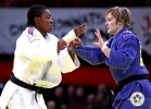 Audrey Tcheumeo (FRA), Lucie Louette (FRA) - Grand Slam Paris (2011, FRA) - © IJF Media Team, International Judo Federation
