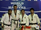 Elkhan Mammadov (AZE), Ilias Iliadis (GRE), Kirill Denisov (RUS), Takashi Ono (JPN) - IJF World Masters Baku (2011, AZE) - © IJF Media Team, International Judo Federation