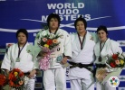 Megumi Tachimoto (JPN), Mika Sugimoto (JPN), Na-Young Kim (KOR), Lucija Polavder (SLO) - IJF World Masters Baku (2011, AZE) - © IJF Media Team, International Judo Federation