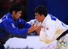 Rishod Sobirov (UZB), Hiroaki Hiraoka (JPN) - World Championships Paris (2011, FRA) - © IJF Media Team, International Judo Federation