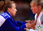 Éva Csernoviczki (HUN), Charline Van Snick (BEL) - World Championships Paris (2011, FRA) - © IJF Media Team, IJF