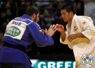Goki Maruyama (JPN), Albert Kostoev (RUS) - World Championships Juniors Cape Town (2011, RSA) - © IJF Media Team, International Judo Federation