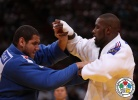 Rafael Silva (BRA), Teddy Riner (FRA) - World Team Championships Paris (2011, FRA) - © IJF Media Team, International Judo Federation