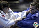 Ivana Maranic (CRO), Lena Buseman (NED) - World Cup Bucharest (2012, ROU) - © IJF Gabriela Sabau, International Judo Federation