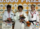 Haruka Yasumatsu (JPN), Ramila Yusubova (AZE), Gemma Howell (GBR) - Grand Prix Baku (2012, AZE) - © IJF Media Team, International Judo Federation