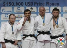 Ilias Iliadis (GRE), Grigorii Sulemin (RUS), Milan Randl (SVK), Magomed Magomedov (RUS) - IJF Grand Slam Moscow (2012, RUS) - © IJF Media Team, International Judo Federation