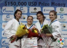 Naranjargal Tsend-Ayush (MGL), Maria Portela (BRA), Rasa Sraka (SLO), Kelita Zupancic (CAN) - IJF Grand Slam Moscow (2012, RUS) - © IJF Media Team, International Judo Federation