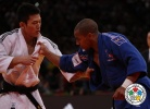 David Larose (FRA), Jun-Ho Cho (KOR) - Grand Slam Paris (2012, FRA) - © IJF Media Team, International Judo Federation