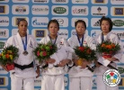 Haruka Tachimoto (JPN), Lucie Decosse (FRA), Ye-Sul Hwang (KOR), Yoriko Kunihara (JPN) - Grand Slam Paris (2012, FRA) - © IJF Media Team, International Judo Federation