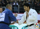 Masashi Nishiyama (JPN), Kirill Voprosov (RUS) - IJF World Masters Almaty (2012, KAZ) - © IJF Media Team, International Judo Federation