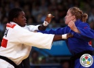 Amy Cotton (CAN), Audrey Tcheumeo (FRA) - Olympic Games London (2012, GBR) - © IJF Media Team, International Judo Federation