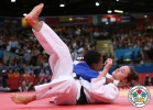 Audrey Tcheumeo (FRA) - Olympic Games London (2012, GBR) - © IJF Media Team, International Judo Federation