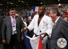 Teddy Riner (FRA), David Douillet (FRA) - Olympic Games London (2012, GBR) - © IJF Media Team, International Judo Federation