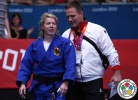 Kerstin Teichert (GER), Michael Bazynski (GER) - Olympic Games London (2012, GBR) - © IJF Media Team, International Judo Federation
