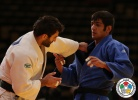 Ramin Gurbanov (AZE), Mohamed Jamali (IRI) - Grand Prix Abu Dhabi (2013, UAE) - © IJF Media Team, International Judo Federation