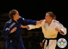 Alena Kachorovskaya (RUS), Ivana Maranic (CRO) - Grand Prix Abu Dhabi (2013, UAE) - © IJF Media Team, International Judo Federation