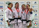 Kim Polling (NED), Jennifer Pitzanti (ITA), Sally Conway (GBR), Margaux Pinot (FRA) - Grand Prix Abu Dhabi (2013, UAE) - © IJF Media Team, International Judo Federation