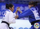 Irina Zabludina (RUS), Sumiya Dorjsuren (MGL) - Grand Prix Qingdao (2013, CHN) - © IJF Media Team, International Judo Federation