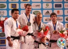 Lukas Krpálek (CZE), Temuulen Battulga (MGL), Henk Grol (NED), Cyrille Maret (FRA) - Grand Slam Paris (2013, FRA) - © IJF Media Team, International Judo Federation