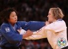 Akari Ogata (JPN), Lucie Louette (FRA) - Grand Slam Paris (2013, FRA) - © IJF Media Team, International Judo Federation