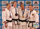 Kim Polling (NED), Kelita Zupancic (CAN), Lucie Decosse (FRA), Laura Vargas Koch (GER) - Grand Slam Paris (2013, FRA) - © IJF Media Team, International Judo Federation