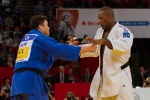 SungMin Kim (KOR), Teddy Riner (FRA) - Grand Slam Paris (2013, FRA) - © Christian Fidler