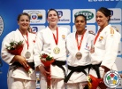 Kim Polling (NED), Kelita Zupancic (CAN), Lucie Decosse (FRA), Linda Bolder (NED) - IJF World Masters Tyumen (2013, RUS) - © IJF Media Team, International Judo Federation