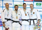 Elkhan Mammadov (AZE), Henk Grol (NED), Lukas Krpálek (CZE), Dimitri Peters (GER) - World Championships Rio de Janeiro (2013, BRA) - © IJF Media Team, International Judo Federation